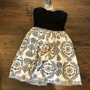 BeBe dress with removable straps
